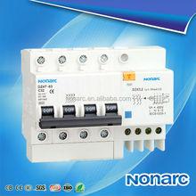 DZ47LE-63 Earth Leakage Circuit Breaker,C45 Residual Circuit Breaker,415V Circuit Breaker
