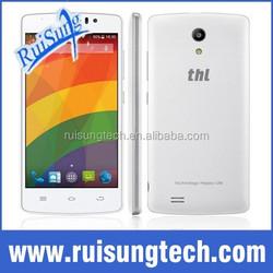 4.7'' Original THL 4000 MTK6582M Quad Core Android 4.4 mobile phone 1GB RAM 8GB ROM 5.0MP OTG 4000mAh GPS Bluetooth