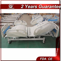 Home care electronic five functional automatic electric hospital adjustable bed