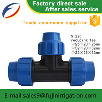 Flat pipe female thread elbow water pipe compressionr automatic irrigation system garden hose connector