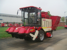 new model corn harvesting machine
