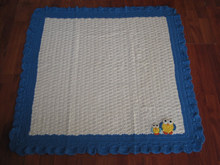 On-time shipment and pre-shipment product quality, fashion handmade crochet cotton blanket manufacturer