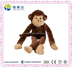 Plush Monkey Toy with Long Arms and Legs