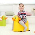 2015 plástico grosso grande lovely pato amarelo vaso sanitário para crianças e bebés/bebê potty