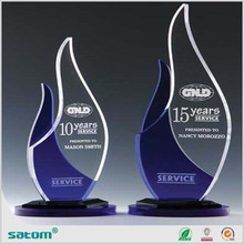 china manufacture high transparent acrylic trophy base