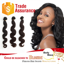 Body wave human hair Not xbl could be dyed to blonde hair
