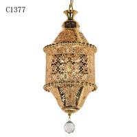 C1377 moravian star, lotus flower lamp, home effect