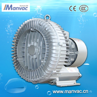 china factory sale directly LD 7.5kw 220v high efficency side channel ring vacuum pump for pneumatic tube system