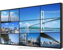 EKAA 55inch Newest LED Backlight Ultra Narrow Bezel LCD Splicing Video Wall,3.7mm Bezel