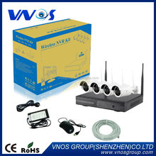 Design factory direct wireless nvr kits with monitor