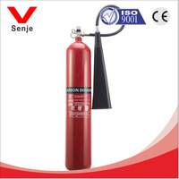 7kg co2 gas fire extinguisher with all accessories separately