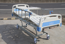 Hospital electric bed folding