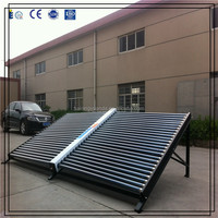 Glass Vacuum Tube Solar Collector for project system
