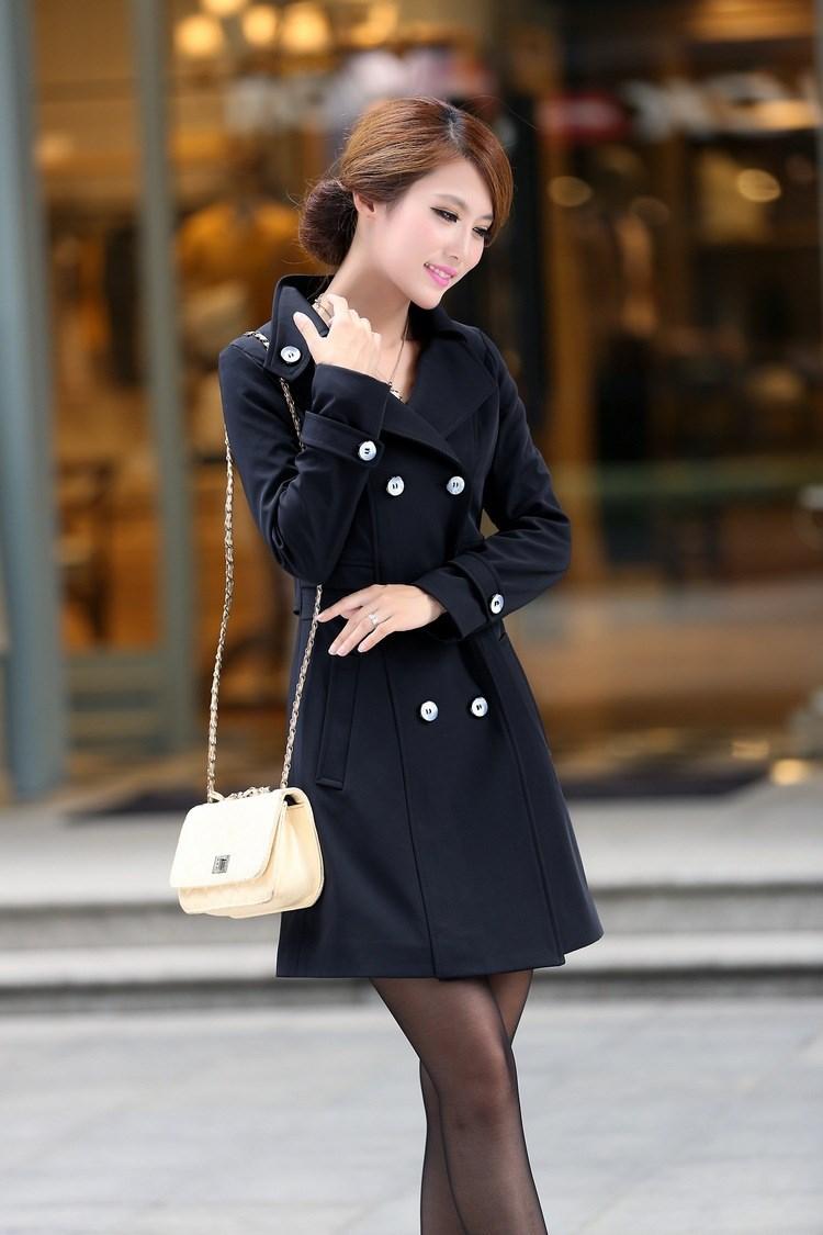 Осень Женской Одежды Пальто