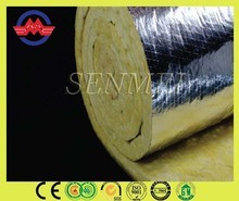 insulation nails glass coating insulation aluminium foil glass wool blanket