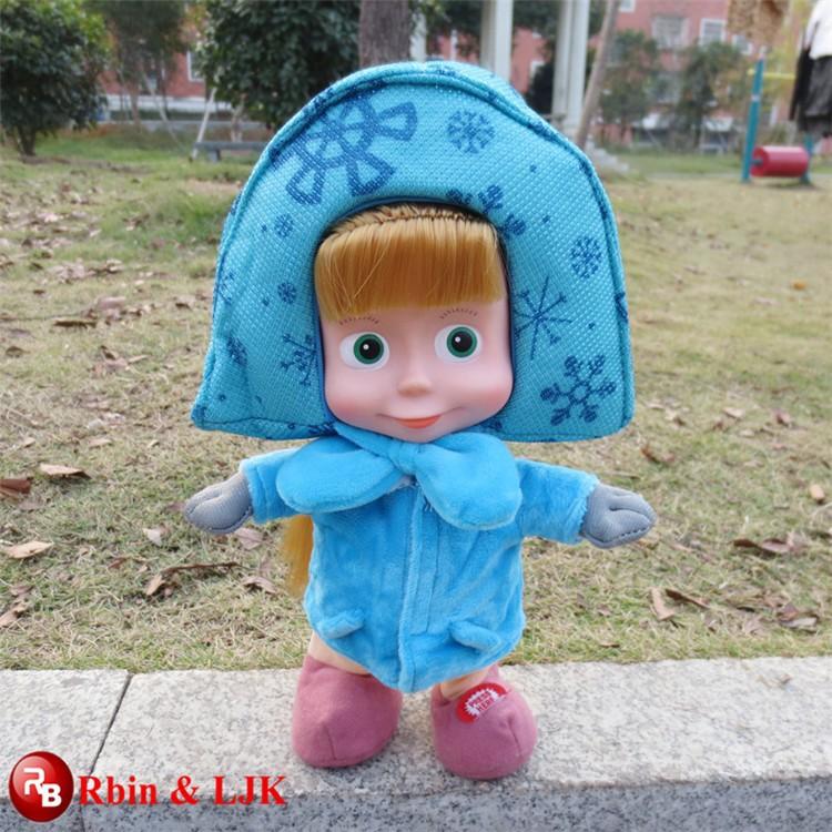 Parla russo e camminare masha e l 39 orso giocattolo peluche for Masha giocattolo