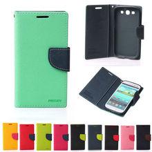 Mercury Goospery Leather Flip Case For Galaxy S Advance,For Samsung Galaxy S Advance Case Wholesale Supplier