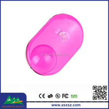 2015 New Promotional Gifts Beautiful Plastic Bike Flash Touch Bell Bicycle Bell