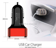 2015 hot product 3 USB charging port car charger with wholesale