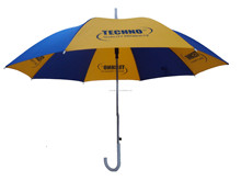 Smooth umbrella handle and strong stand golf umbrella