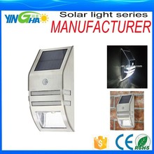 Montado en la pared del Sensor de movimiento de luz ( plata ) artículo YH0607