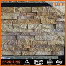 Wholesale good quality Natural interlocking dark stacked stone