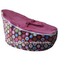 Rainbow Circles Baby Beanbag, child Todler Bean Bag Kid Pod Seat Bean Bag, Nursery Snuggle sleeper beds