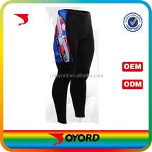 nice top team wear match usage long leggings cycling shorts