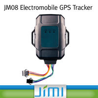 JIMI GPS Position, Overspeed, Vibration And Low Fuel Alarm Function GPS Car Tracker With Sms Remote Engine Stop JM08