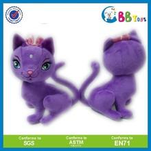 Custom plush cartoon cat animal toy plush Alice in wonderland stuffed toy