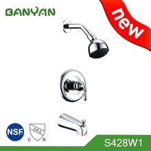 Adjustable Height Faucet For Bath And Shower