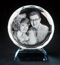 pure crystal portrait forphoto picture frame (R-0030)