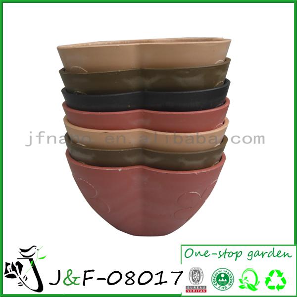 empilháveis de plástico planta de vaso de flores <span class=keywords><strong>para</strong></span> casamento