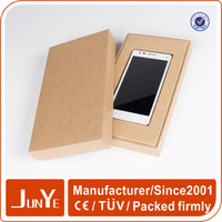 cell phone case kraft paper gift packaging box slide open box wholesale