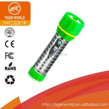 torch light manufacturer tiger world dry battery ring pen flexible led torch light for austrialia