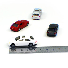 Whiter plastic car scale model for architectural building making /scale model materials