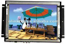 "Olink 8"", 10.2"" 12.1"" openframe touch monitor with VGA, AV, HDMI, DVI Inputs"
