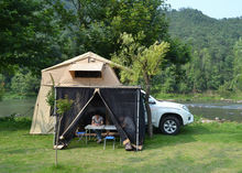 outdoor camping roof top tent for car