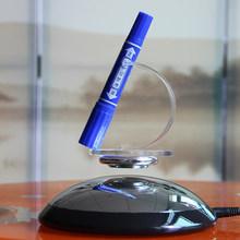 Carga máxima 300 g semicírculo flotante magnética base del soporte de exhibición de la levitación