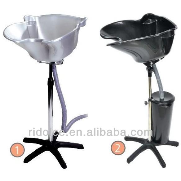 Portable shampoo basin with bucket hair wash equipment for Salon equipment manufacturers