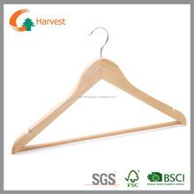 retailer grade A natural wooden clothes hangers wholesale