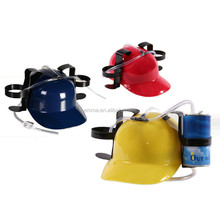Carnival party red yellow & blue funny drinking beer oktoberfest hat HT8825