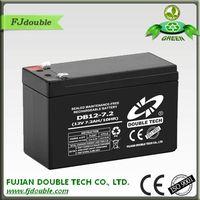 ups back up battery small 12v 7.2ah battery lead acid battery