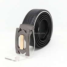 2015 new design italian genuine leather belt, high quality man belt wholesale from YIWU