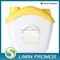 Waterproof plastic tissue dispenser