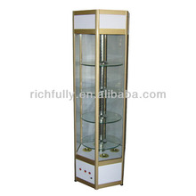 Square Mobilephone Display Shelf Cabinet, Cheap Glass Cabinets
