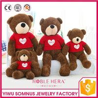 loving heart plush teddy bear for birthday 120cm C010