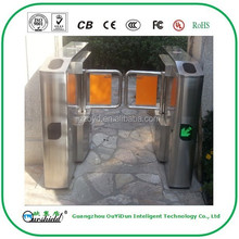 Automatic Swing Barrier Gate with RFID Reader For Intelligent Access Control, CE, CB, FC, UL, ISO9001 approved