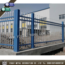 New type white outside wall iron palisade fencing design(SGS Products)