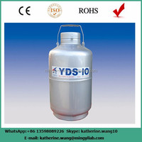 Professional liquid nitrogen storage container supplied by manufacture